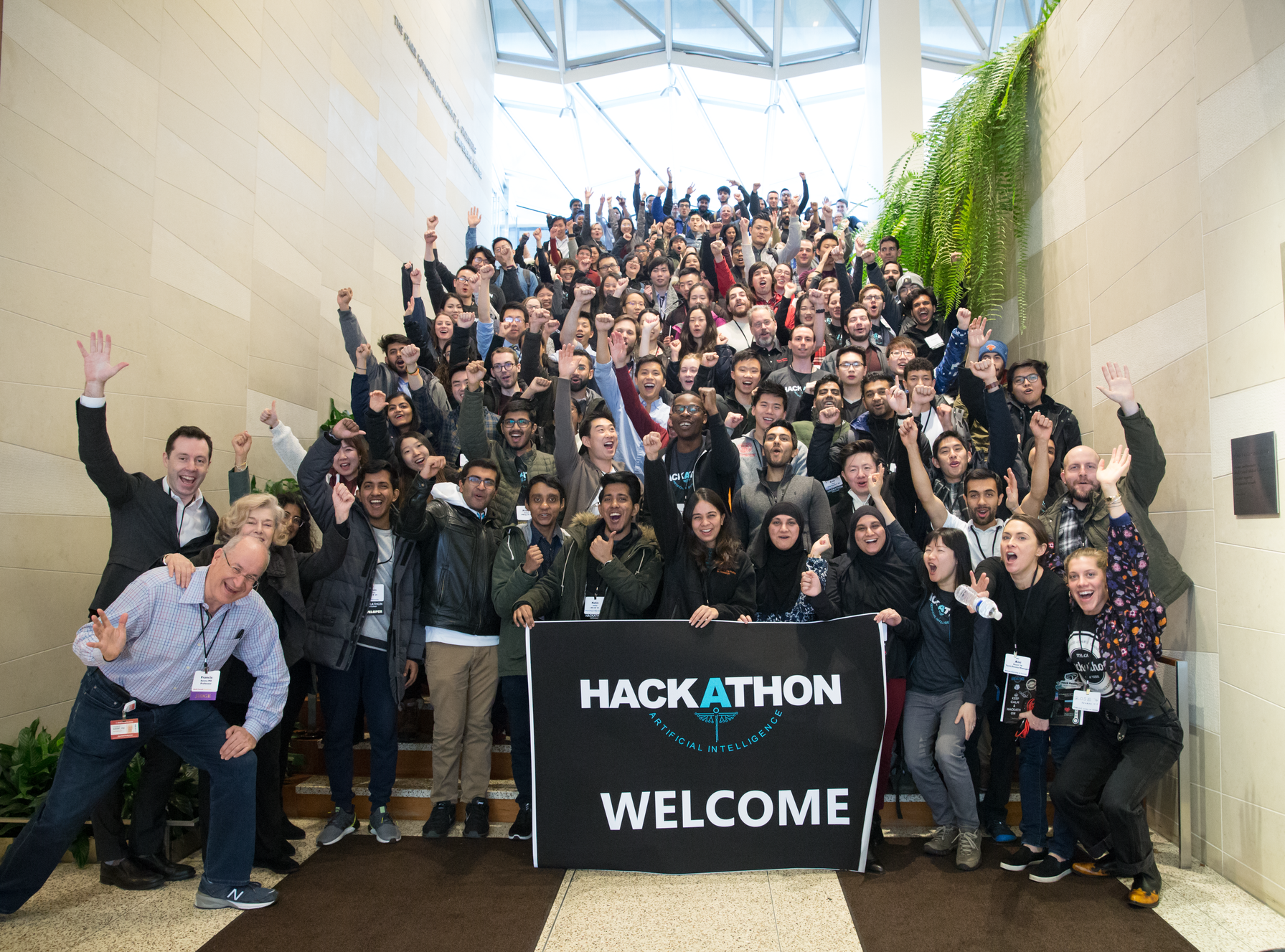 2020 Hackathon group photo